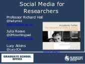 DMU Social Media for Researchers