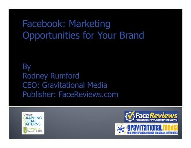 Facebook Marketing for Brands