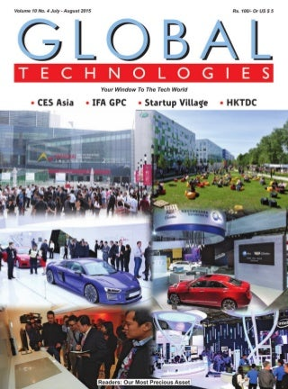 Global Technologies July-August 2015 - CES Asia