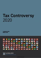 Getting the Deal Through: Tax Controversy 2020