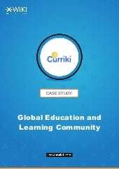 Online Education Resources: the Curriki's Case Study