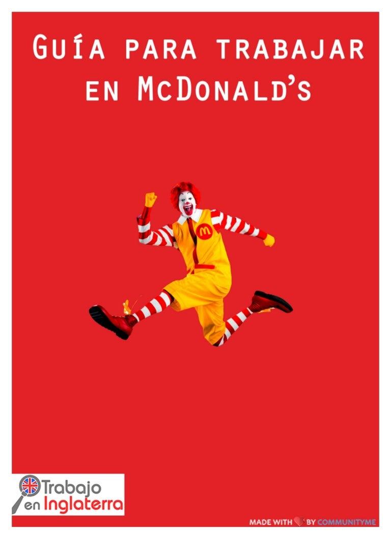 Guía para trabajar en McDonalds