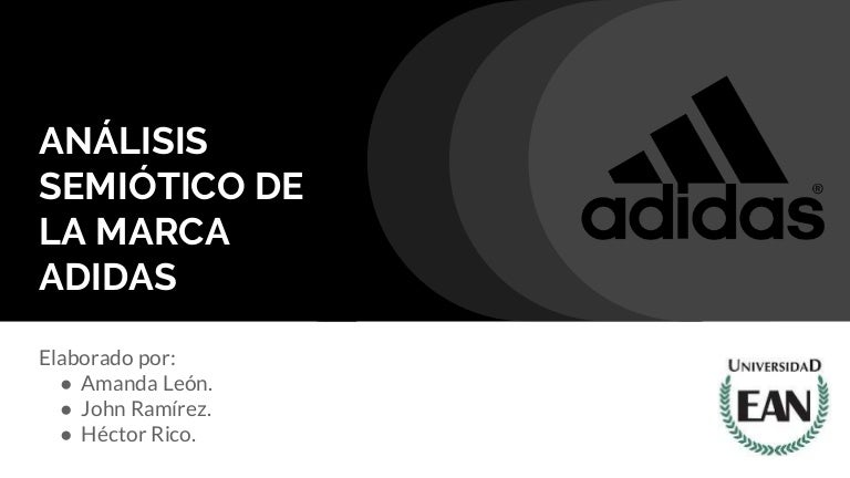 adidas logo analisis