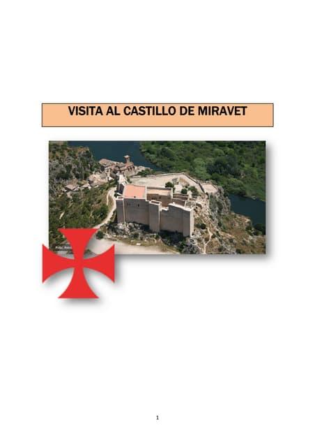 Guía castillo de Miravet