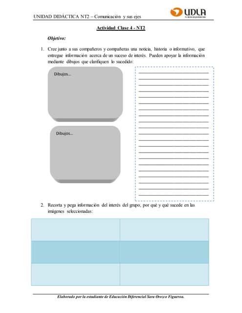 Guía de aprendizaje clase 5   nt2