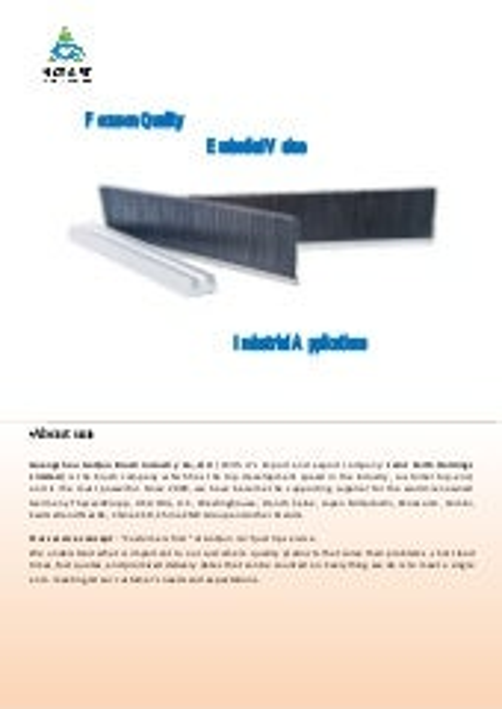 brush--escalator parts