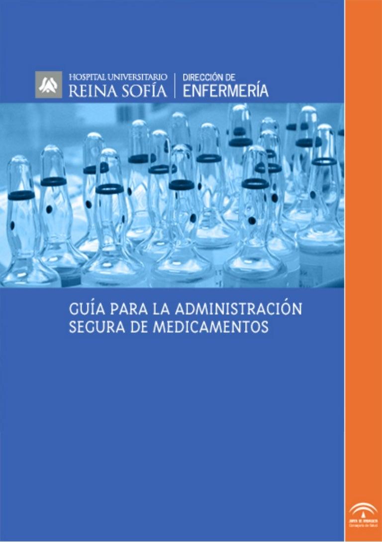 Guia Para La Administracion Segura De Medicamentos