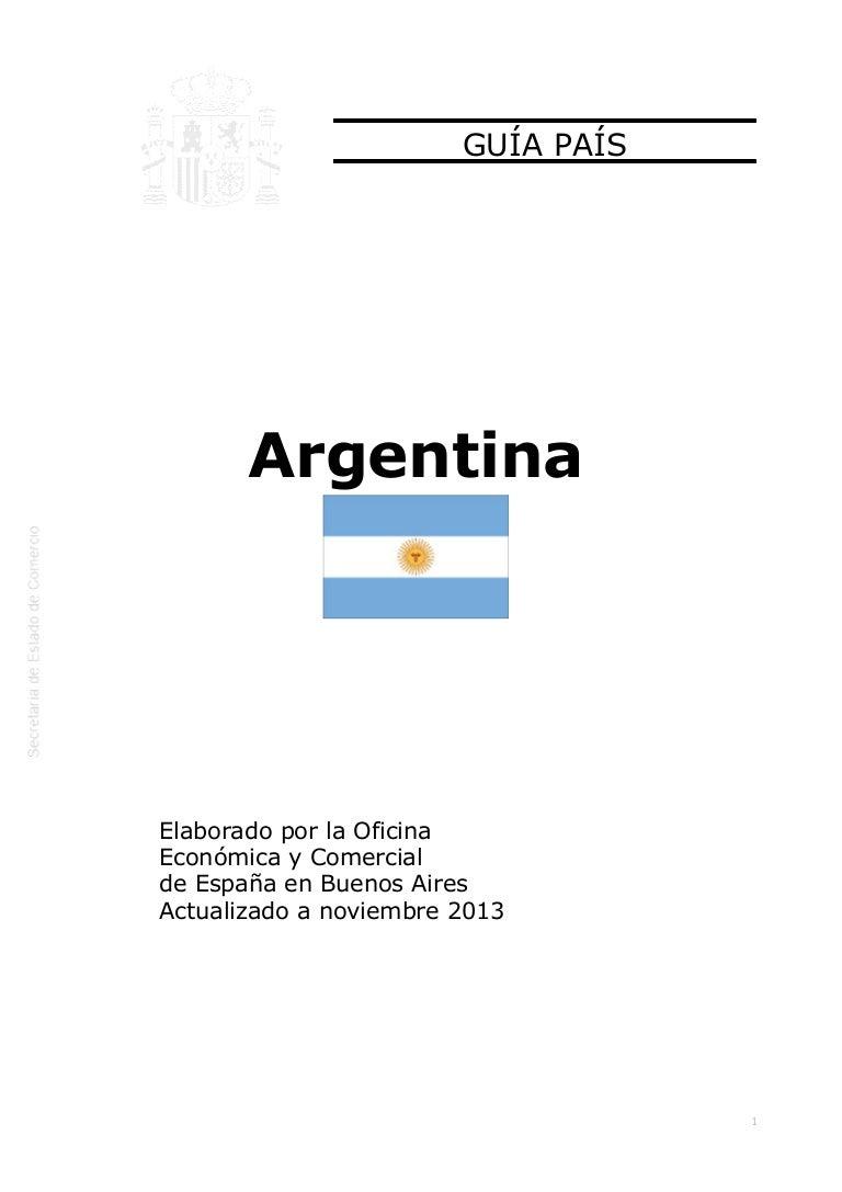 Guía país argentina