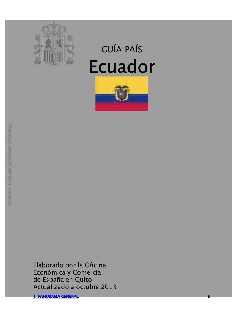 Guía país ecuador