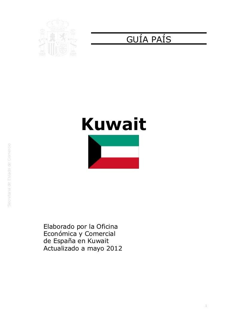 ICEX Guía país kuwait 2012.