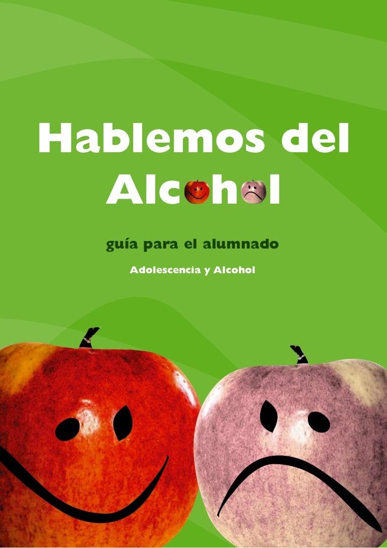 Resultado de imagen de hablemos del  alcohol. guía para el alumnado