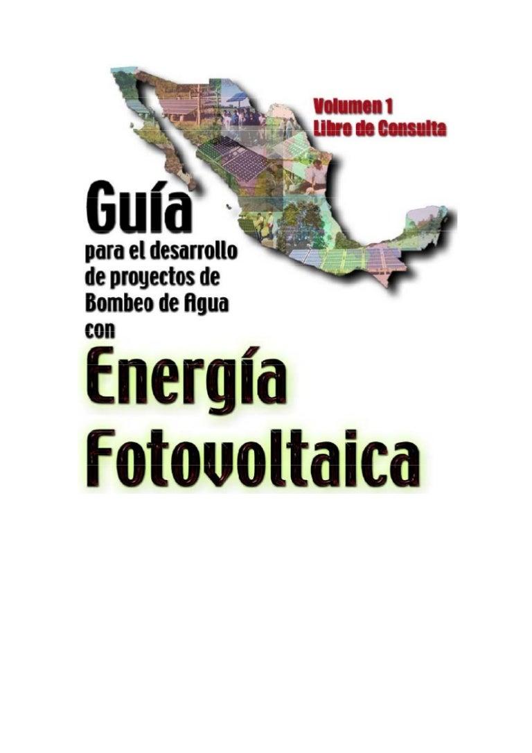 Guia bombeo agua energia fotovoltaica