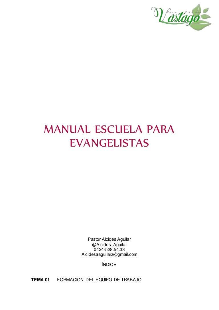 Escuela Para Evangelistas