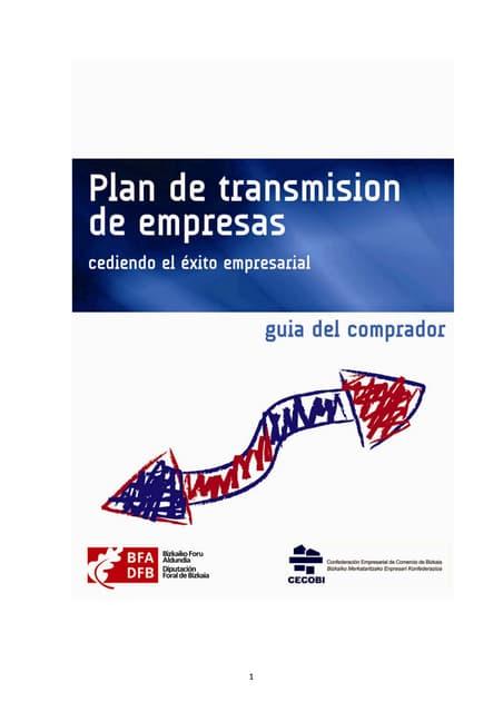 Plan de transmisión de empresas - Guia del comprador