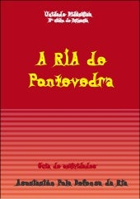 A Ría de Pontevedra. Guia de Actividades