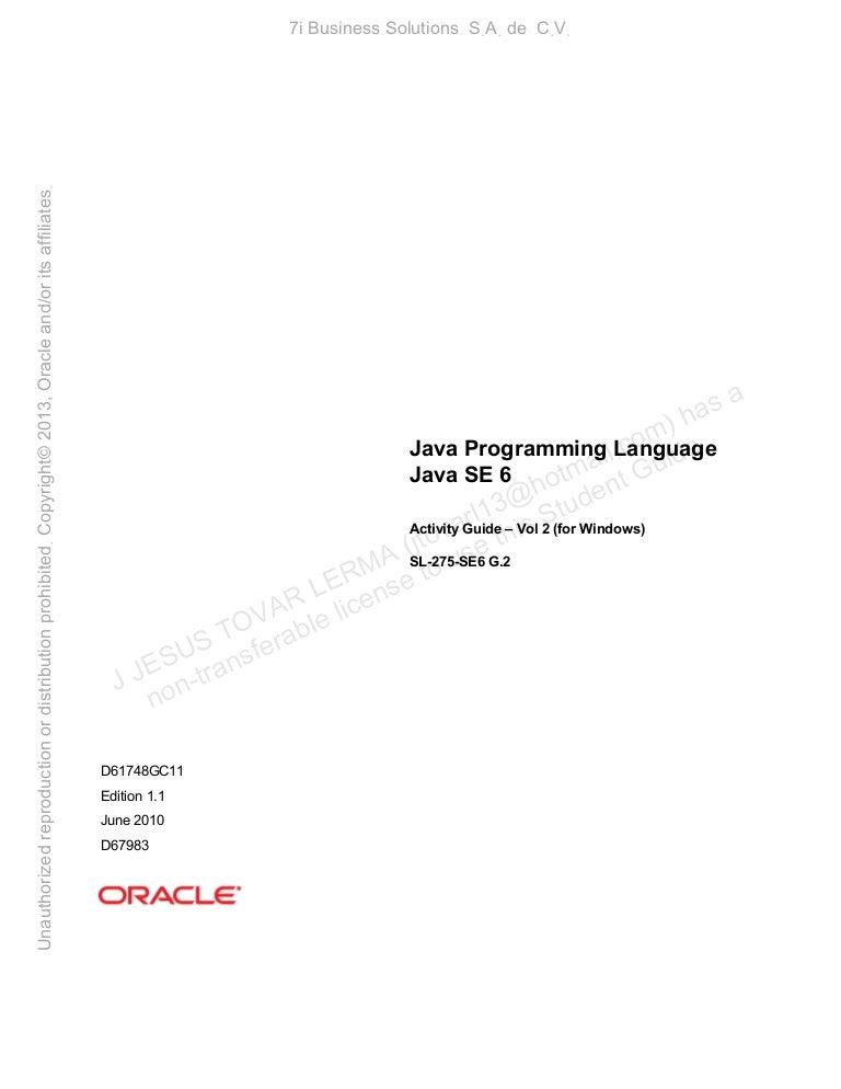 Java Sl 275 Pdf