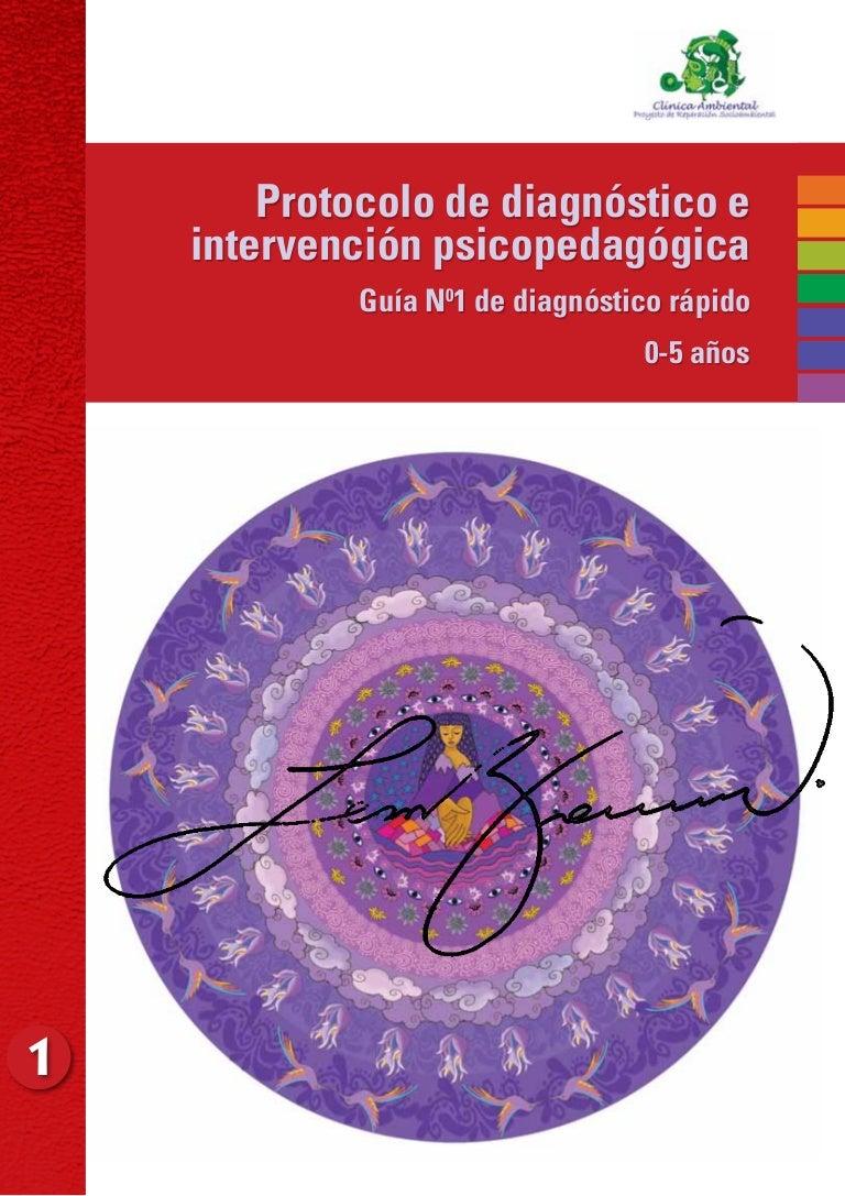 Guia intervencion y diagnostico infantil cb6292f963