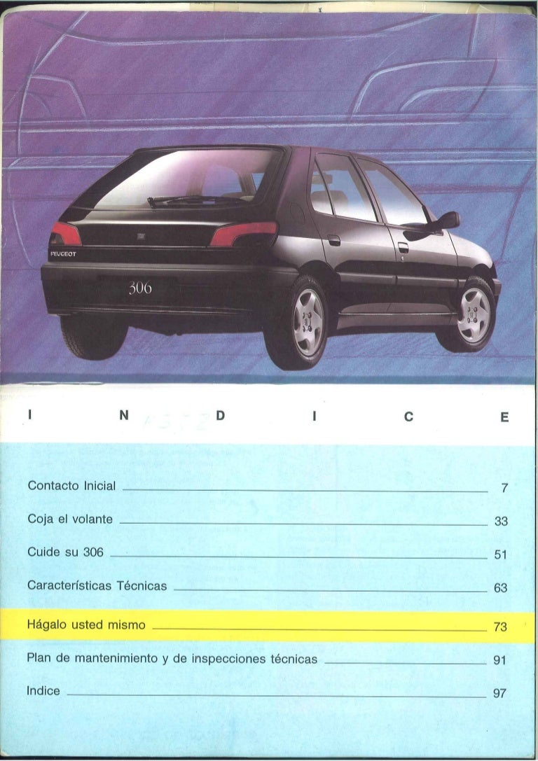 peugeot 306 manual rh slideshare net manual de peugeot 306 xr 1.8 manual de taller peugeot 306 fase 2