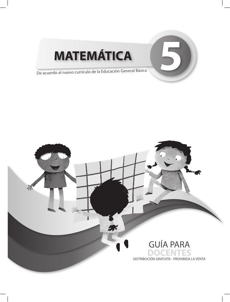 Guia matematica quinto_ano