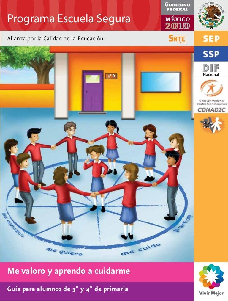 Programa escuela segura guia para alumnos 3o y 4o for A que zona escolar pertenece mi escuela