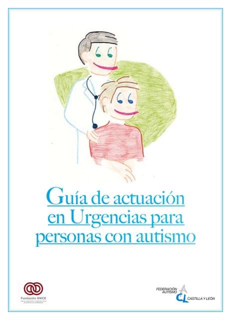 Guía de Actuación en Urgencias para Pacientes con Autismo