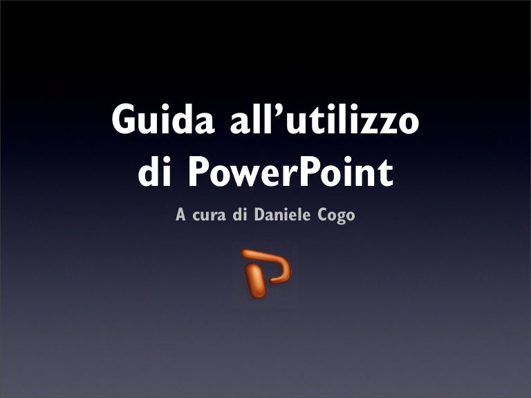 Come mettere lo sfondo su powerpoint 2007