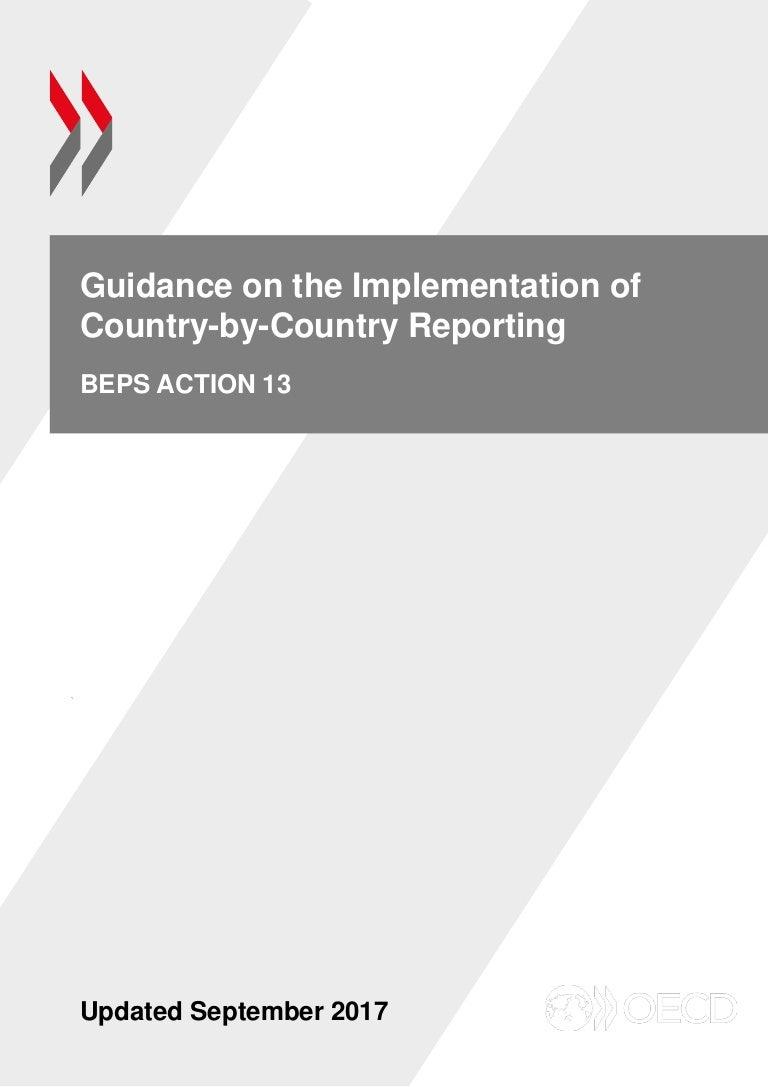 Guidance Of Beps 13