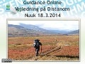 Guidance online nuuk 18.3.2014