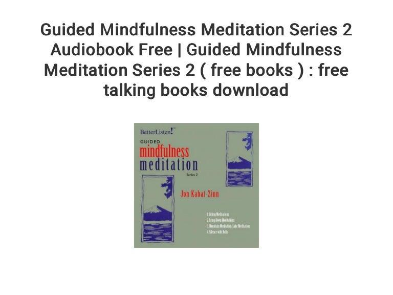 jon kabat zinn meditation download free