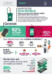 Rapporter son mobile - Guide FFTelecoms