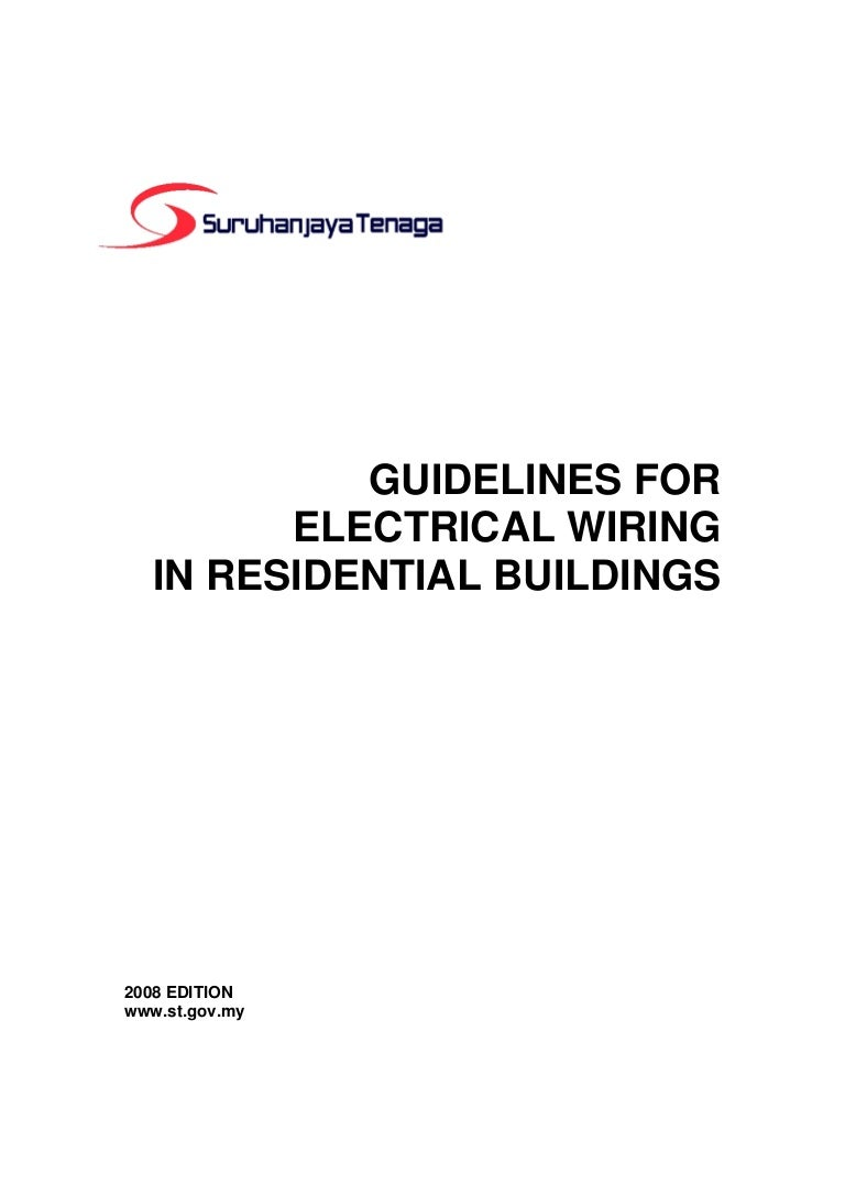 Guidelines For Electrical Wiring In Residential Buildings Household Cable Size Guidelinesforelectricalwiringinresidentialbuildings 150610132807 Lva1 App6891 Thumbnail 4cb1433942908