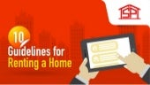 10 Guidelines for Renting a Home