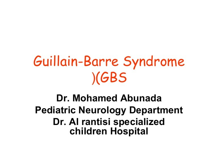 the symptoms treatments and causes of the guillain barre syndrome In this video i'll explain you about guillain-barré syndrome (gbs) is a rapid-onset muscle weakness caused by the immune system damaging the peripheral.