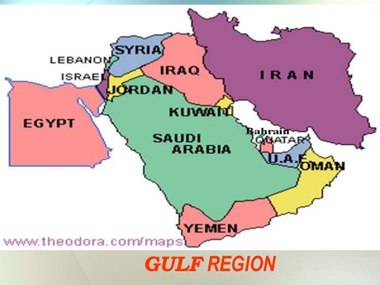 Worksheet. Gulf Region