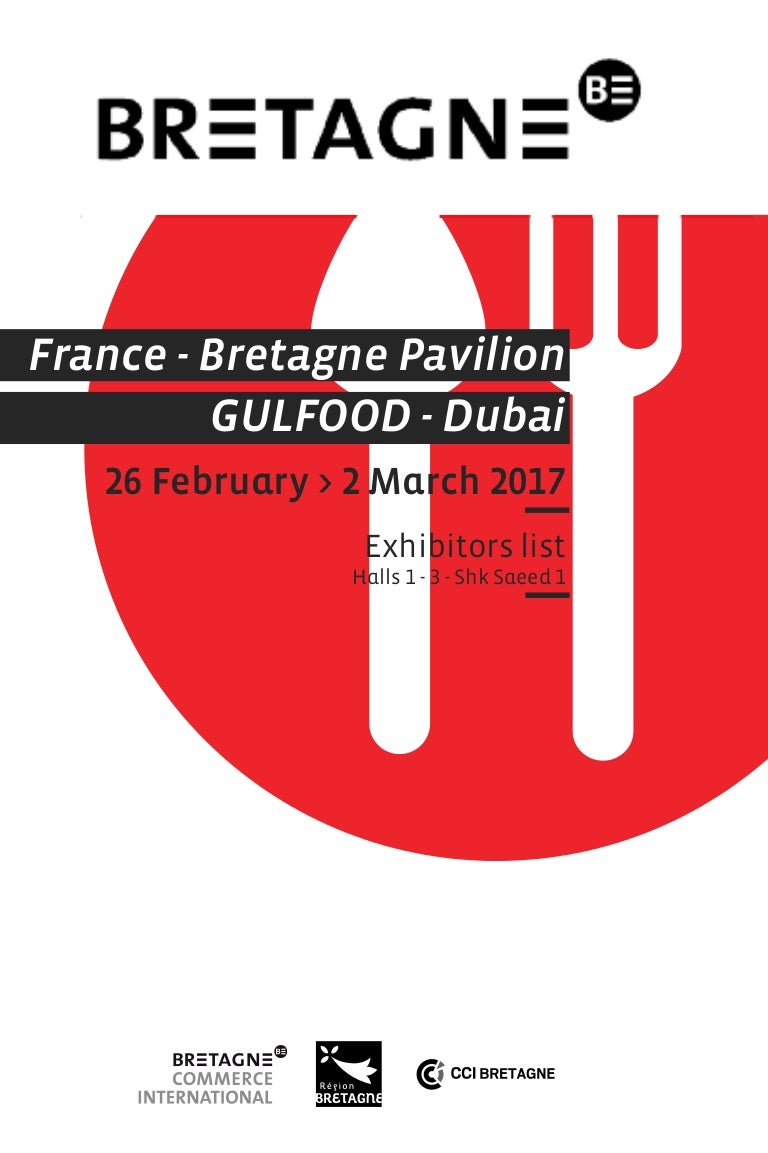 Bretagne at Gulfood 2017