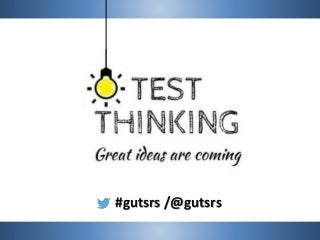 [GUTS-RS] Test Thinking