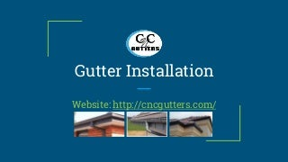 Gutter Installation In Fort Worth, TX