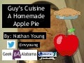 Aspie Recipes: A Homemade Apple Pie