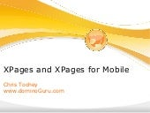 IBM Lotus Notes Domino XPages and XPages for Mobile