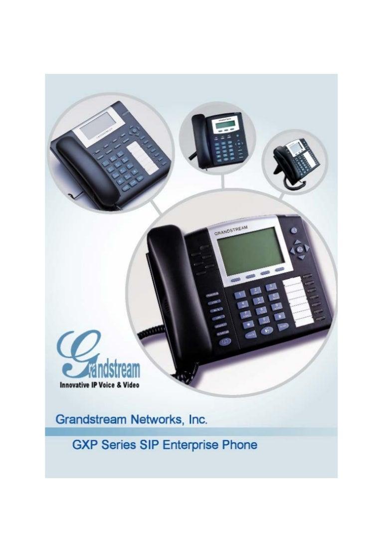 GrandStream GXP2000 V2.0 PoE VoIP system