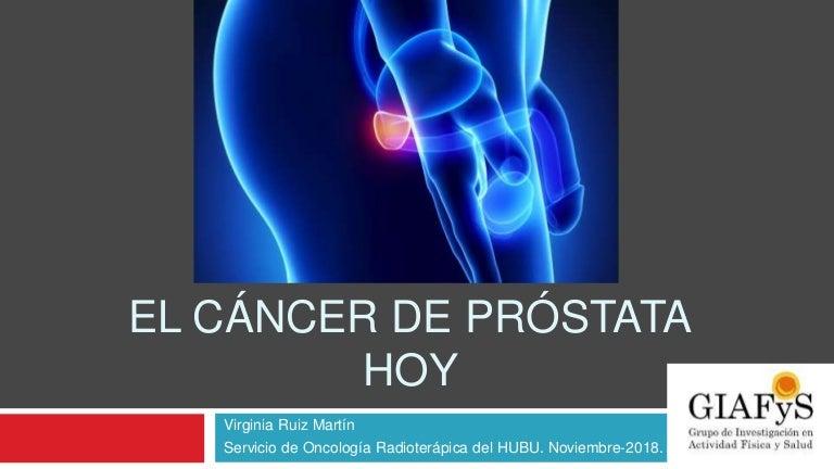 tratamiento radiológico para próstata