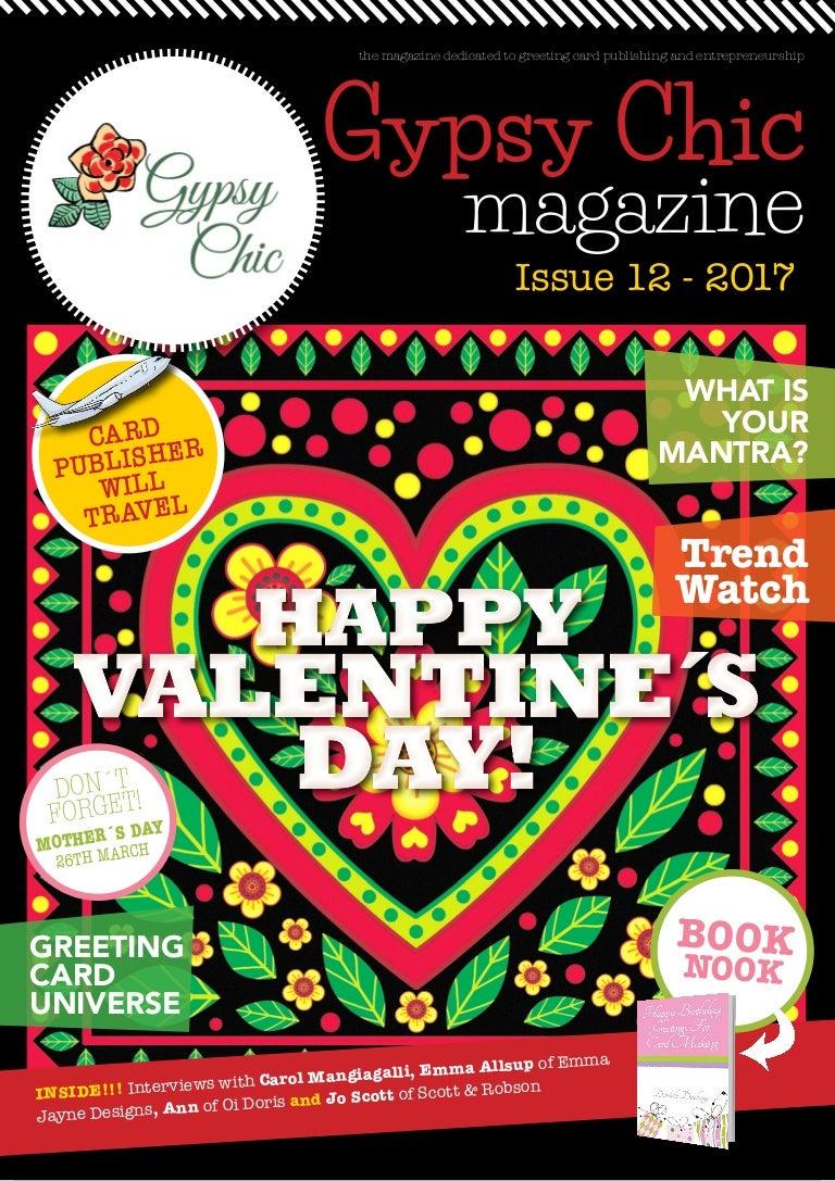Gypsy Chic Issue 12 Editor Lorraine Stylianou