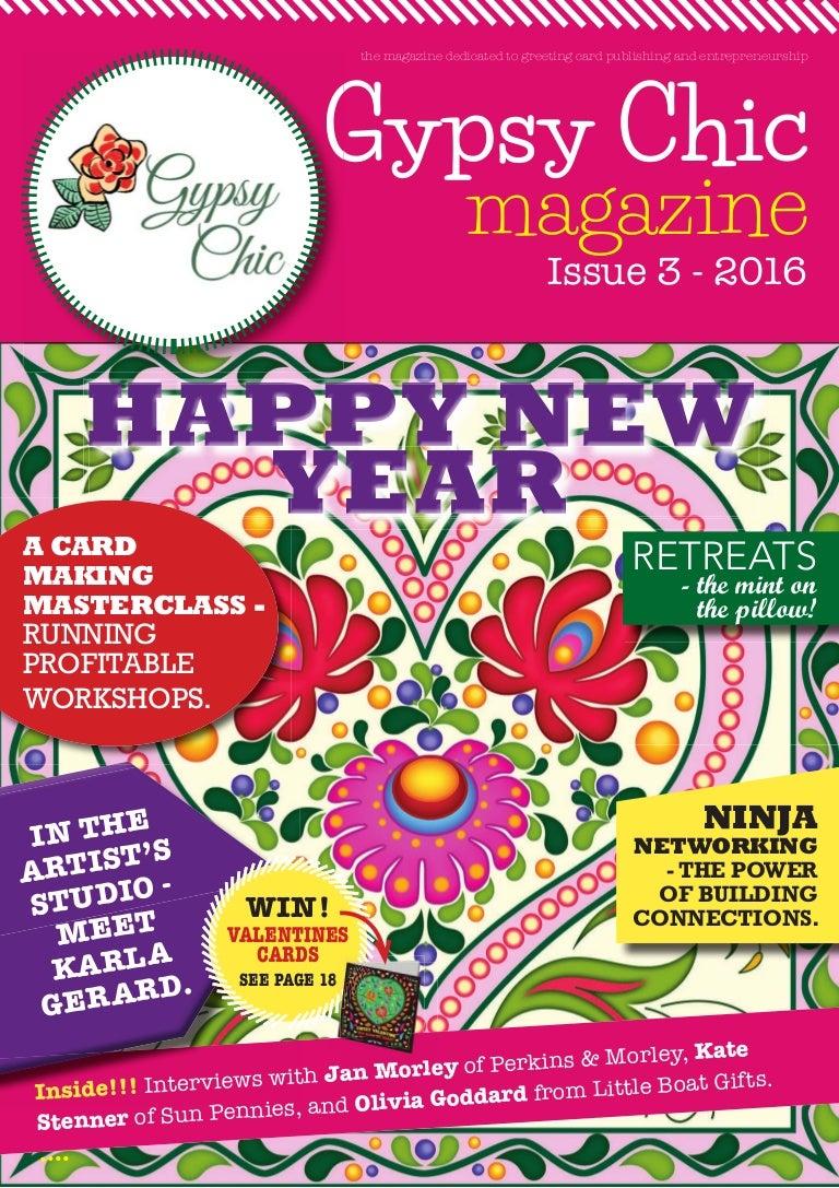 Gypsy Chic Issue 3 Editor Lorraine Stylianou