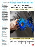 SBIC Report : Transforming Information Security: Future-Proofing Processes