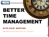Better time management with beat mapping - Linda Austin - Muncie NewsTrain - 3.24.18