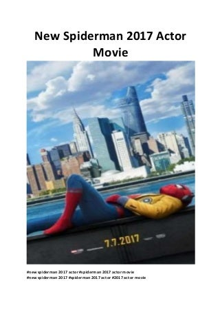 Spider-Man: Homecoming cast - new Spiderman 2017 Actor Movie - free online movies unblocked - www.moviestarflix.com
