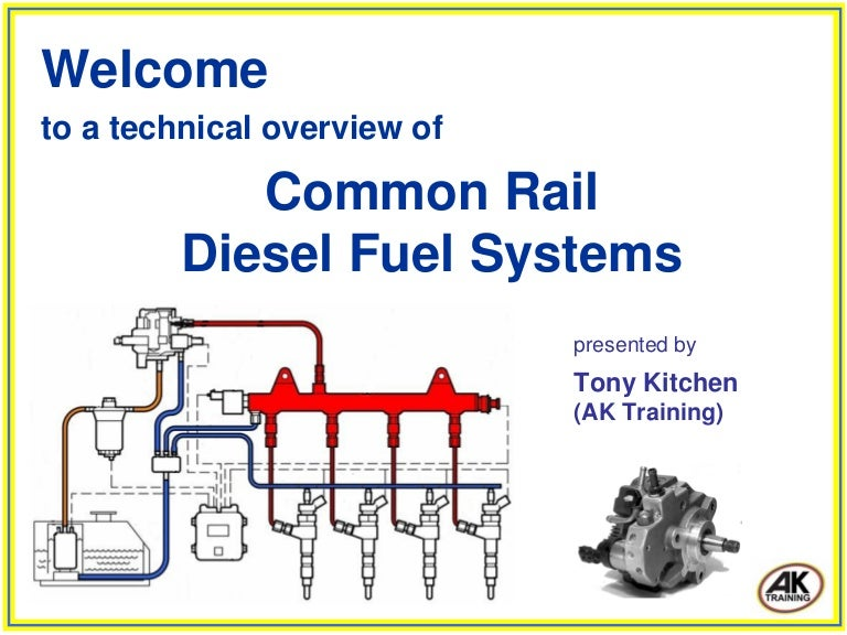 Advanced Diesel Common Rail Injection System for Future ...