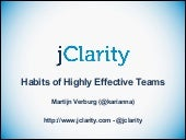 Habits of Highly Effective Teams
