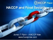 Haccp and food fraud security