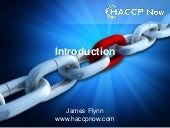 HACCP Now General Overview
